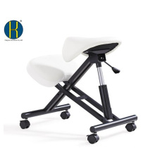 HY5001-1 Wood/ Metal Frame for Ergonomic Office Kneeling Saddle Chair/ Height Adjustable / Saddle Seat