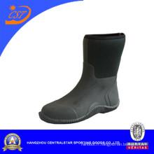 Chaussures confortables de jardin de néoprène de veau moyen (80405)
