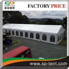 Outdoor-Hochzeitszelt 15x30m für 300 Sitzplätze mit ausziehbarer Größe