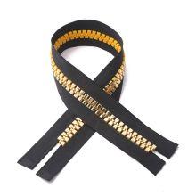 Slap-up 11inch golden metal zipper for jacket