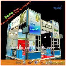 Expositores de exposiciones comerciales y desmontables expositores de exhibiciones fotográficas