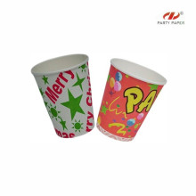 Single PE Fancy Disposable Paper Cup