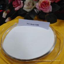 Matériel chimique poudre blanche en plastique formosa pvc résine
