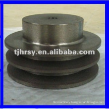 Cast iron belt pulley with hub