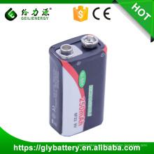 Batería recargable de la cámara digital de la batería NI MH 9V 250mAh 6F22