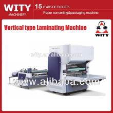 Machine semi-automatique de laminage de type vertical