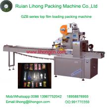 Gzb-350A de alta velocidad de la almohadilla de tipo automática de flujo de productos básicos envoltura de la máquina