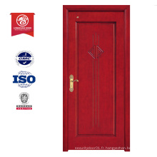 Longxuan bonne conception en bois de porte d'entrée, fournisseur chinois conception de porte en bois