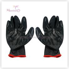 13gauge Palm Nitril getaucht Polyester Arbeitsschutzhandschuhe, Garten Handschuhe