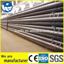 Melhor preço ERW tubo de aço para poste de bandeira fabricados na China