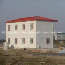 China low cost two-story prefabricated house