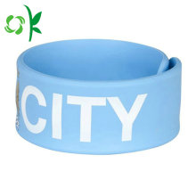 ลูกอมสี Simple Silicone Slap Bracelet for Gift