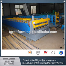 China Double Layer Roof And Wall Roll Forming Machine with premium quality