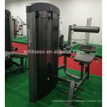 China gym equipment abdominal crumch back extension machine