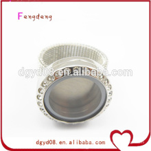 2014 Newest Design Locket Ring Stainless Steel Rings