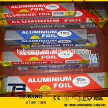 AA food packaging aluminum foil for crafts With Factory Wholesale Price