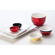 Mélamine Bol à salade Duotone / bol à soupe / (CC15712-06)