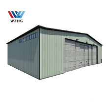 Prefabricated Steel Building Design with Drawings for Warehouse and Workshop Hangar