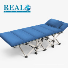 Modern Adult Single King Portable Metal Sofa Cot Folding Bed With Mattress