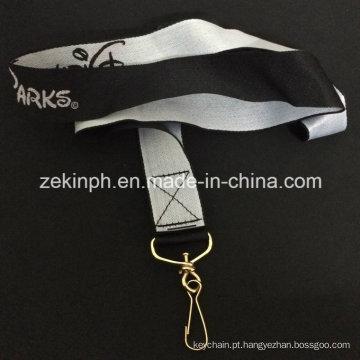 Cordão de Nylon logotipo bordado personalizado
