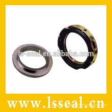 Wave spring seal for air condition compressor
