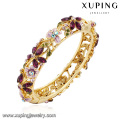 Pulseira -61 moda charme colorido strass jóias flor folha pulseira