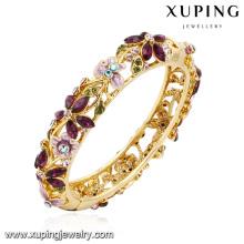 Bracelet -61 breloque strass coloré bijoux fleur feuille bracelet