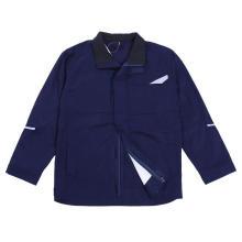 Огнестойкая защитная куртка с отражающей лентой спецодежды