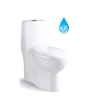 Salle de bains UPC Flush Valve One Piece Square toilettes