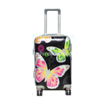 ABS et PC impression Rolling Trolley Case