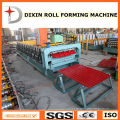 Roofing Tile Cold Roll Forming Machine with PLC Control System