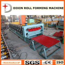 Roofing Tile Cold Roll Forming Machine con sistema de control PLC