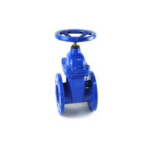 Brida motorizada vástago no ascendente jis medidor de agua dn600 válvula de compuerta de vapor