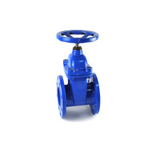 Flanged motorized non rising stem jis water meter dn600 gate valve steam