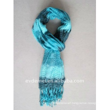 Hollow print arab scarf for women