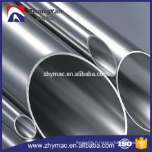 prix de tubes soudés en acier inoxydable par mètre pour les matériaux de construction