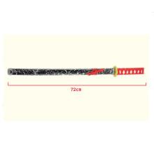 espada de katana ninjamedieval de brinquedo de madeira