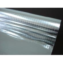 Doppelseitige Aluminiumfolie 2-Wege-Gitterstoff, doppelseitige Folien-Scrim-Kraft-Verkleidung, Aluminiumfolie-Isoliermaterial