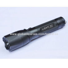Cree LED Rechargeable Torch, R7 with 340lm Light OutputNew