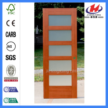 Cheap 5 Panel Shaker Interior Wood Wooden MDF Door