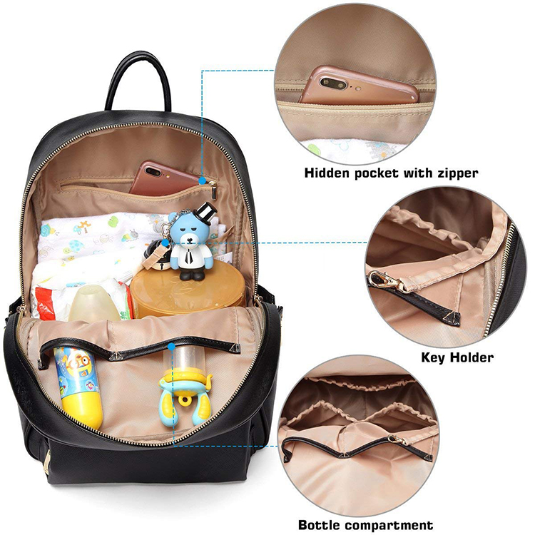 Leather Diaper Bag 8