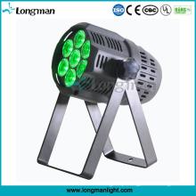 Osram 7 * 15W RGBW feixe estreito LED PAR pode irradiar luz