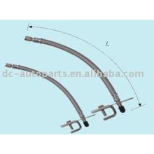 Extensión flexible de metal con soporte