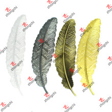 Metal Feather Bookmark Cheap China Price Wholesale (BM01-09)