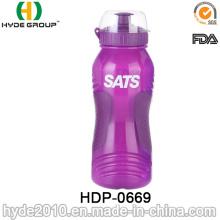 Botella de agua plástica del deporte de la venta caliente 2017 con la paja, botella de agua plástica del deporte del PE (HDP-0669)