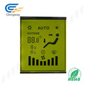 Carácter Verde Amarillo Tn Tipo Transmissive Positive LCD Display Panel