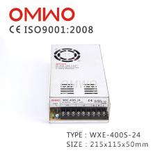 Wxe-400s-24 ce aprovou a fonte de alimentação do interruptor da tela de exposição do diodo emissor de luz da CC 400V