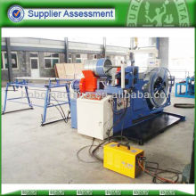 Spiral air duct forming machine