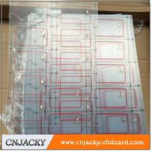 Incrustación de tarjeta IC / ID 125khz de alta calidad con chip y antena EM4200 / TK4100 en producción en masa (fabricante profesional)