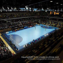 China Facroty Sale PVC Sports Flooring for Basketball / Handball Court